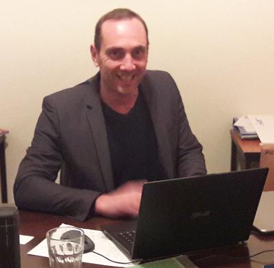 Serge Gruel, coordinateur régional à Beyrouth